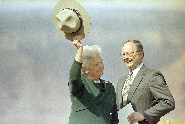 大峡谷芭芭拉布什1991年4月