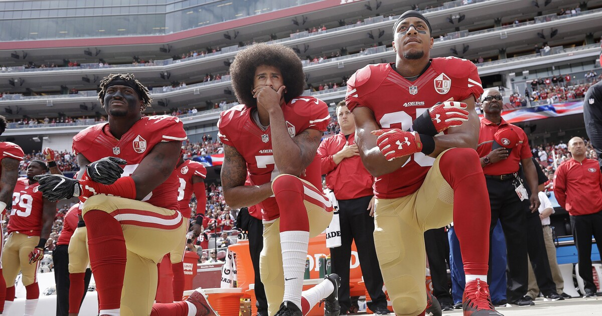 Take it from this veteran: Stop acting like kneeling for the flag has anything to do with us