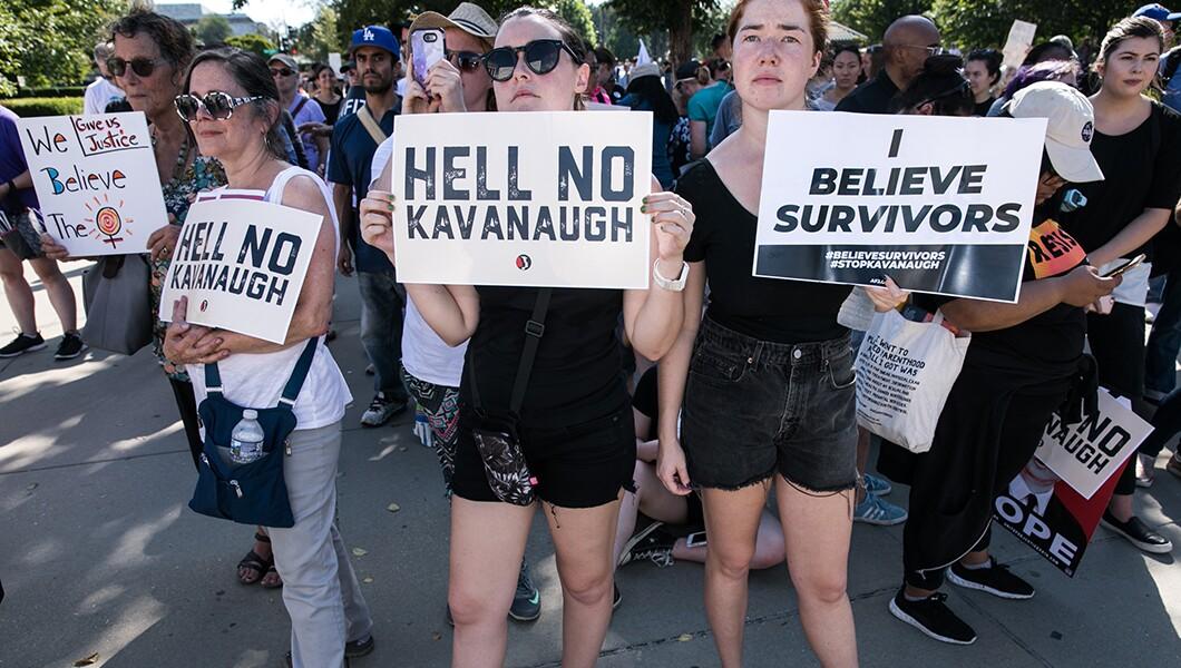 Kavanaugh确认抗议