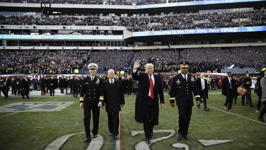 2018年陆军 - 海军足球比赛