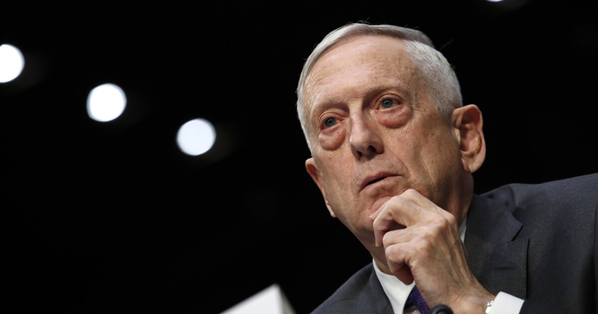 Jim Mattis thought 'nothing at all' of Trump saying he might leave Pentagon