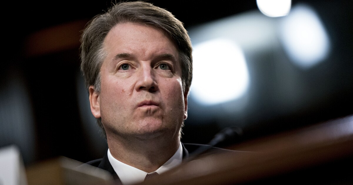 Final vote on Kavanaugh could be early next week