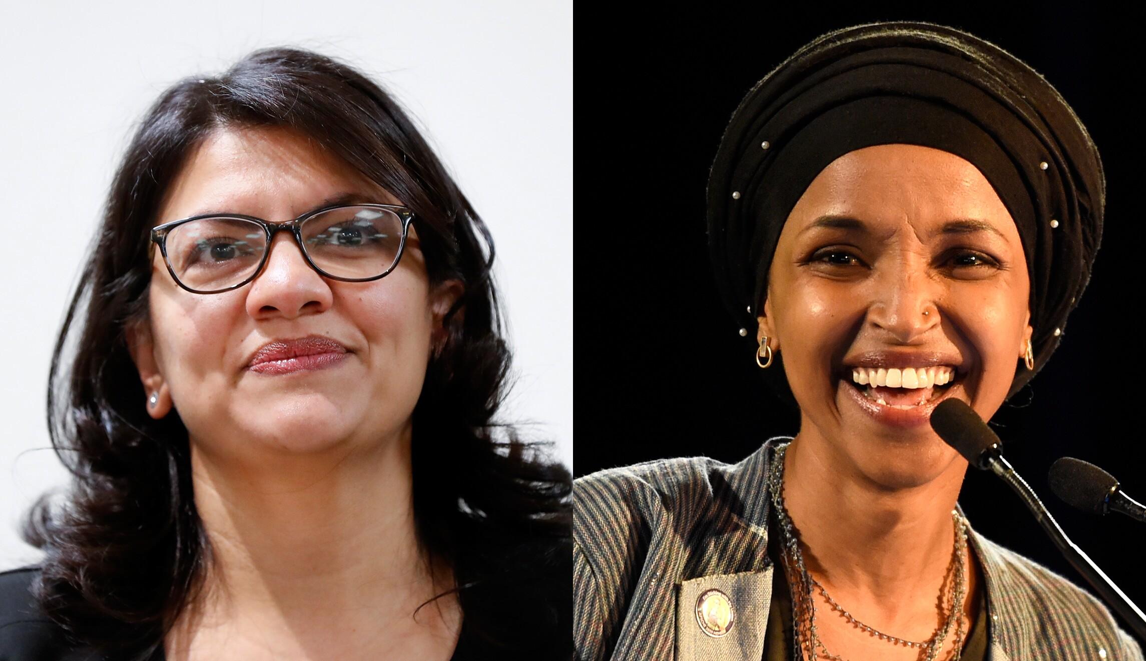 Rashida Tlai,Ilhan Omar