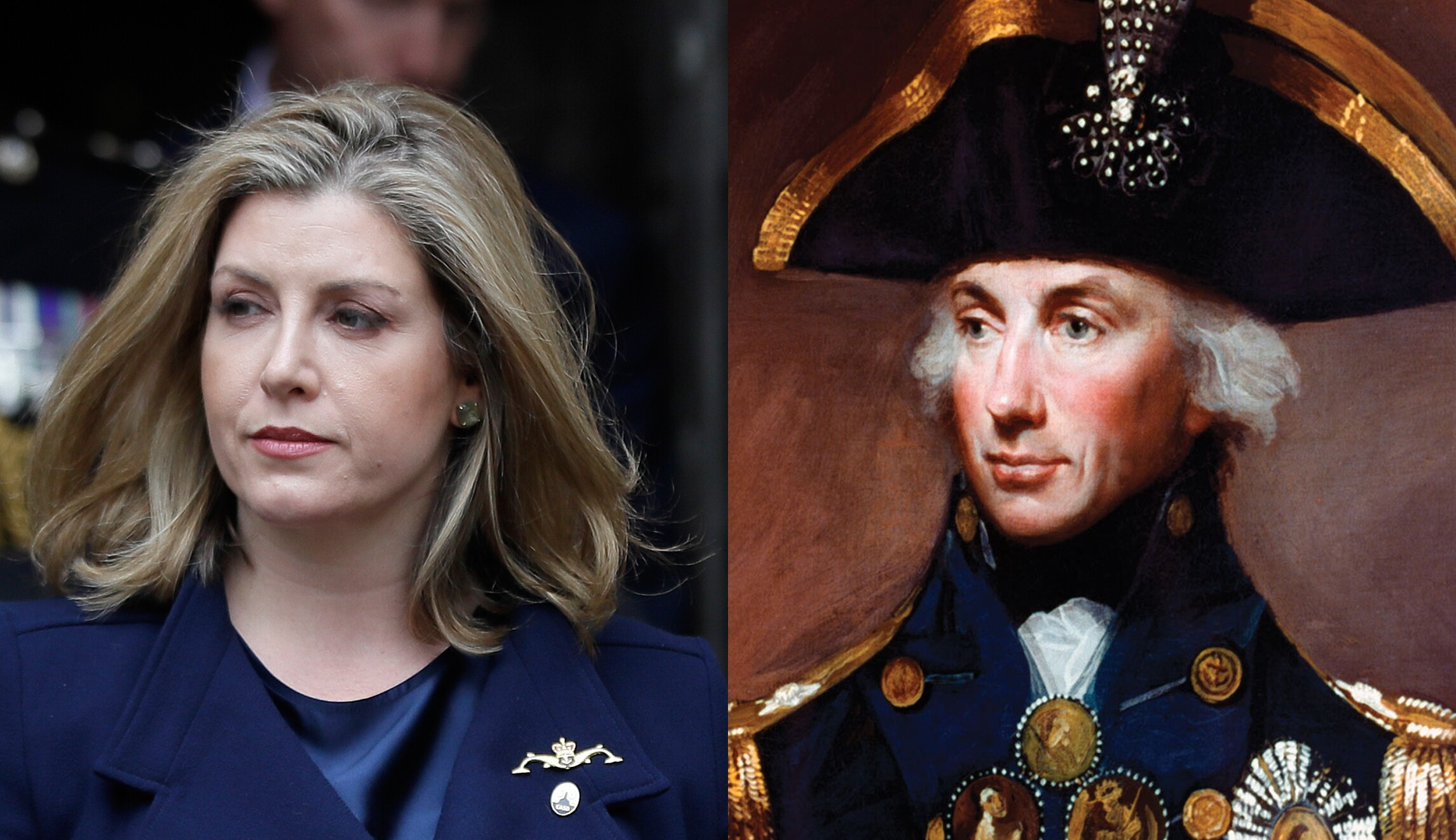 Penny Mordaunt,Horatio Nelson