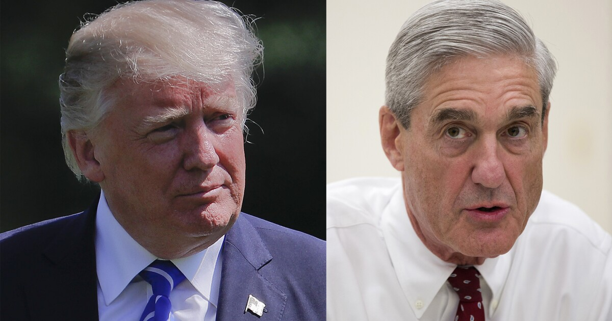 Trump refuses pledge to not shut down the Mueller investigation