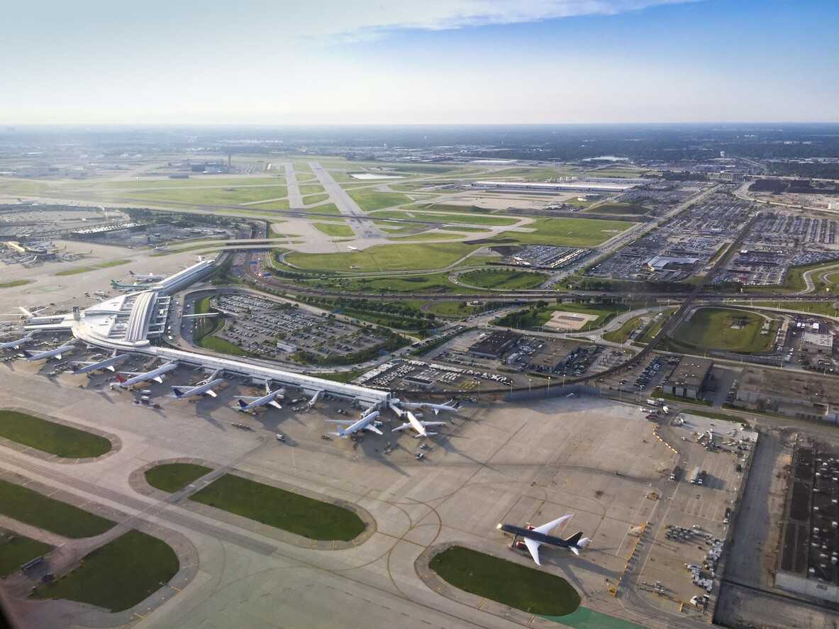 芝加哥奥黑尔国际机场的这个设施位于阿片类药物流行的前线。