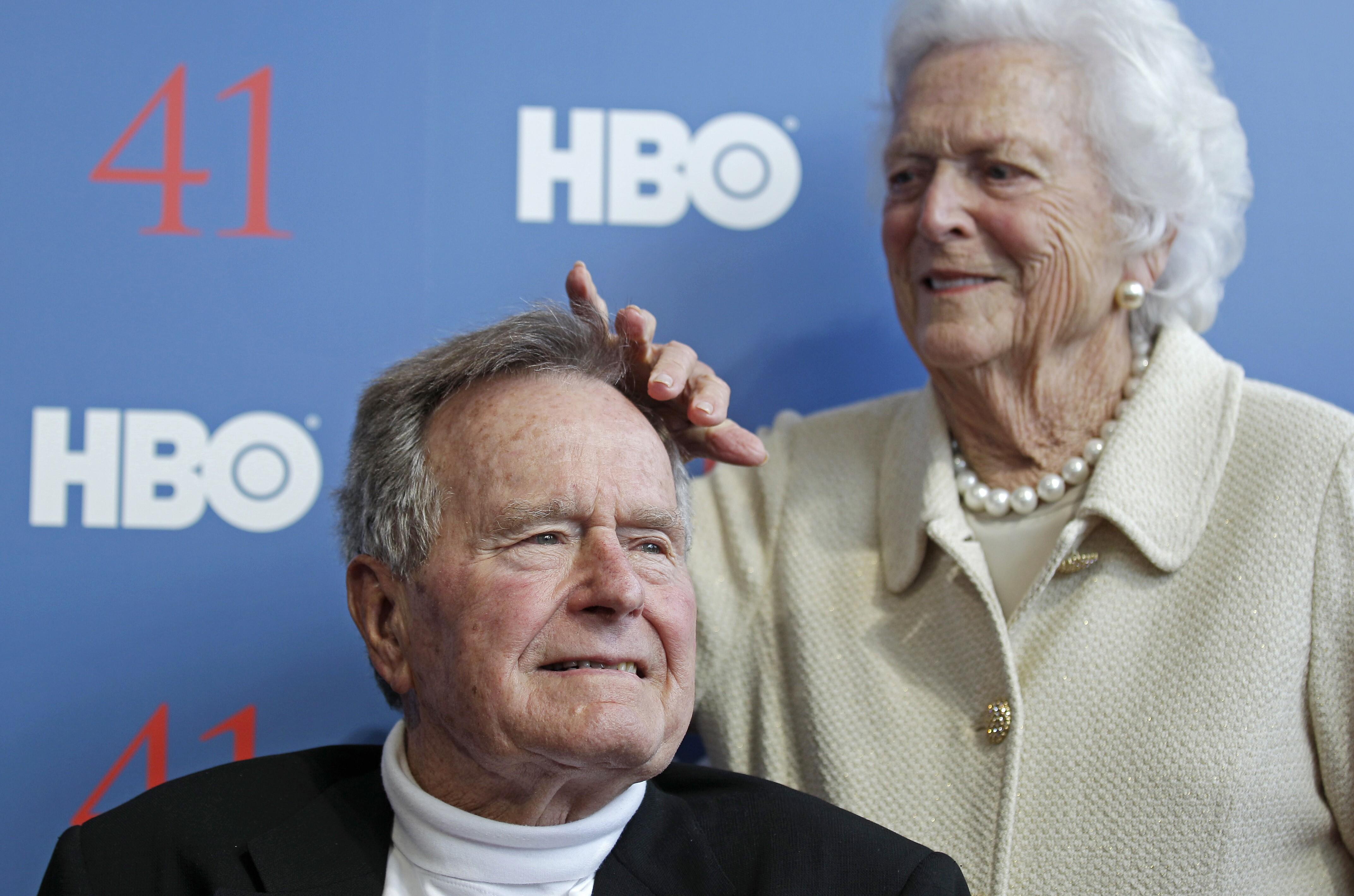乔治H.W.布什,芭芭拉布什2012年6月