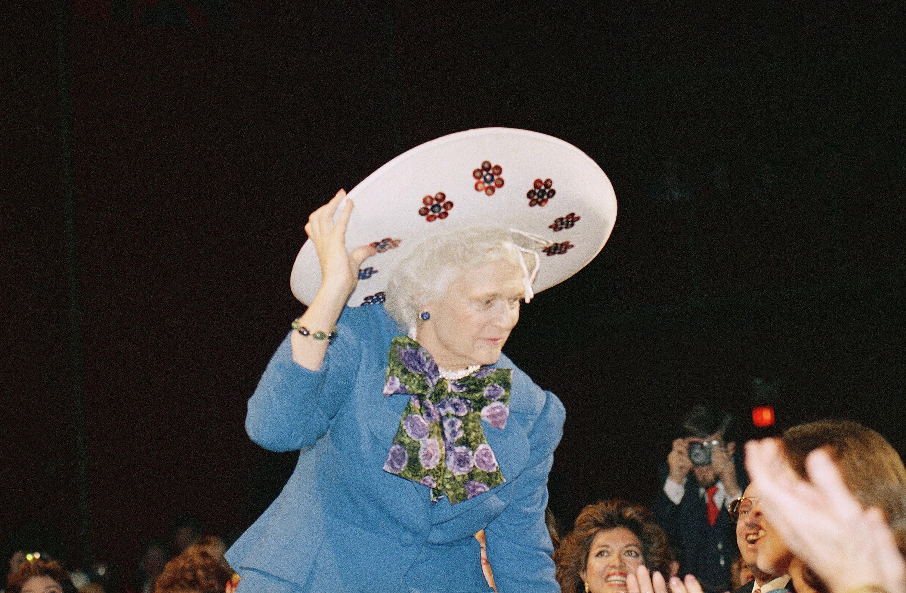 芭芭拉布什1989年