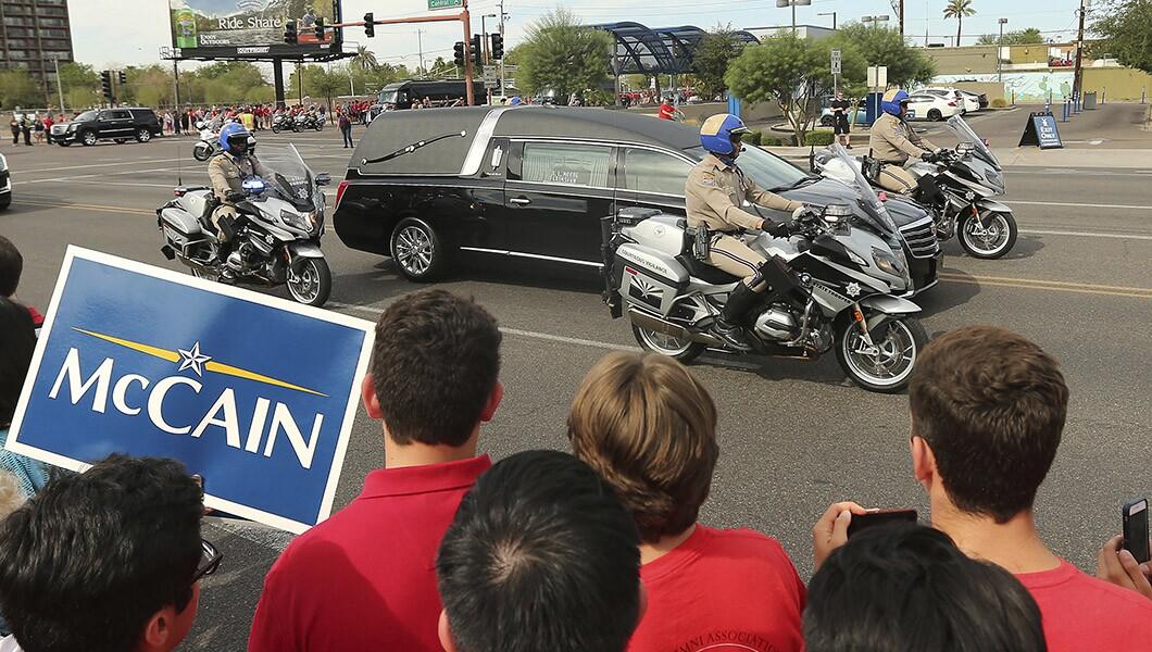 参议员约翰麦凯恩记得凤凰城
