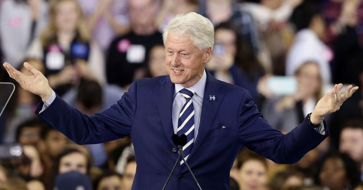 When Bill Clinton ruled the Earth