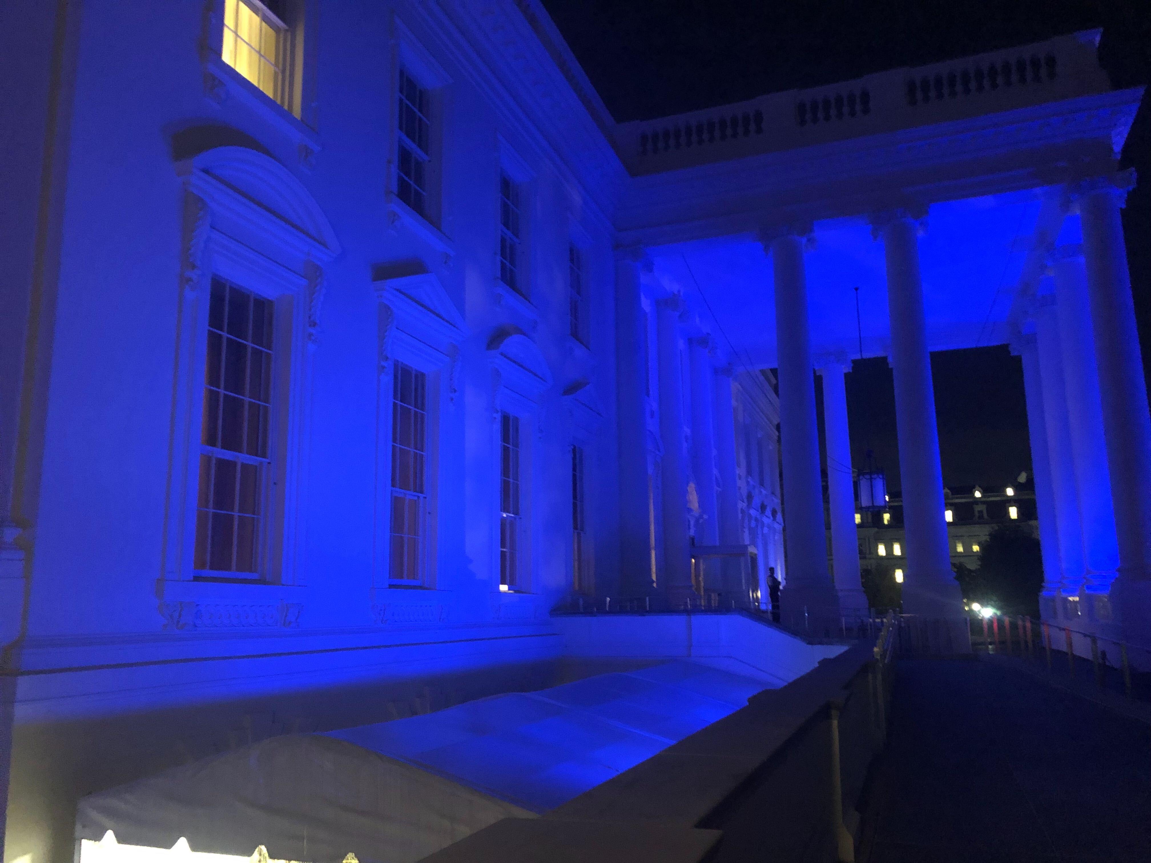蓝宫的白宫