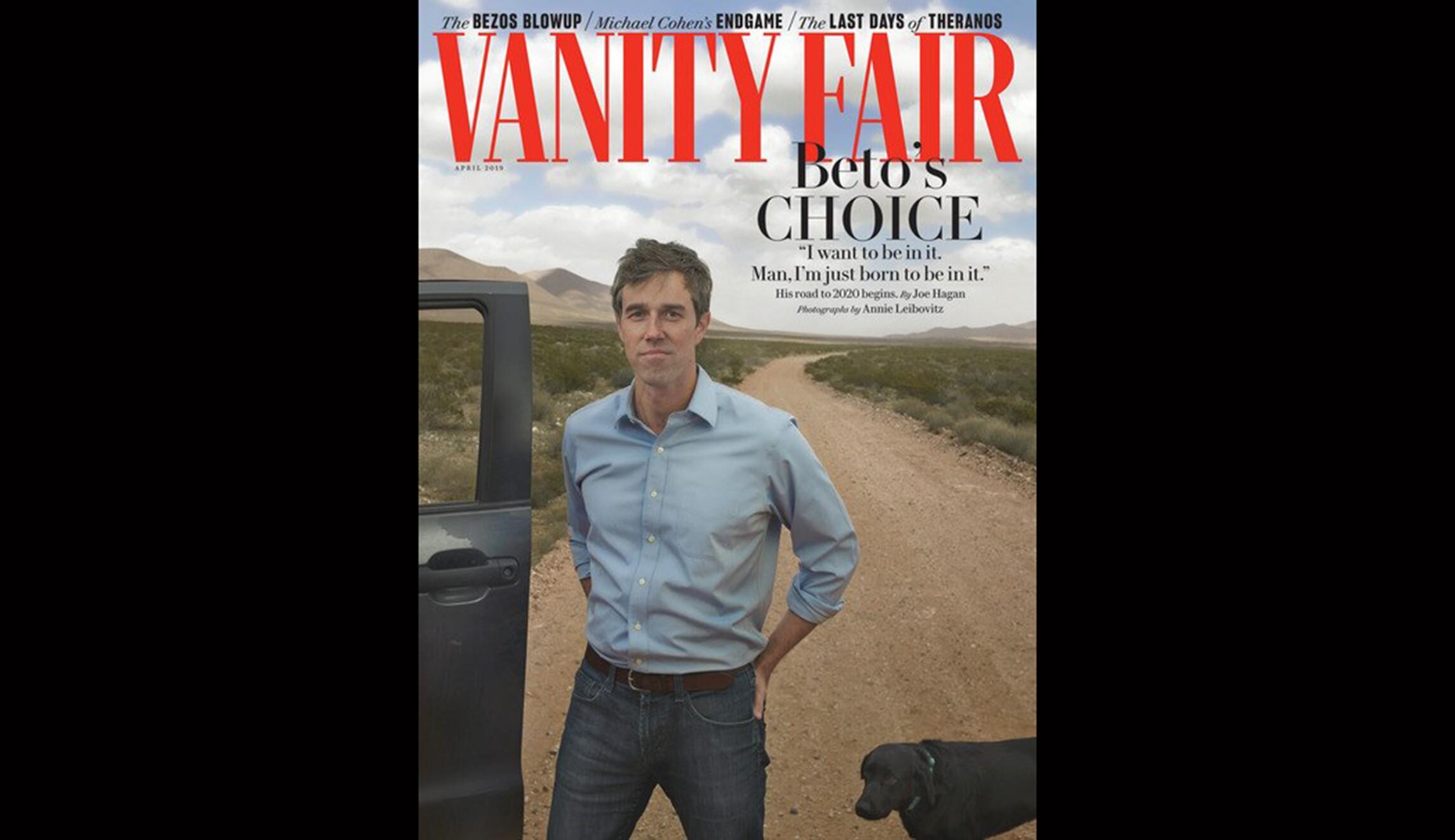 Beto Vanity Fair封面