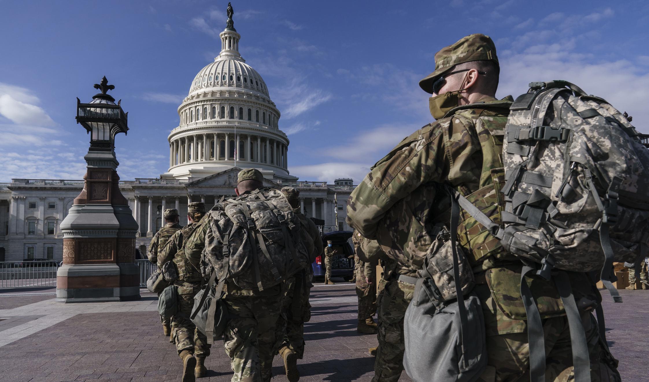 'Breakdown in communication' far below leadership led to National Guard garage shuffle