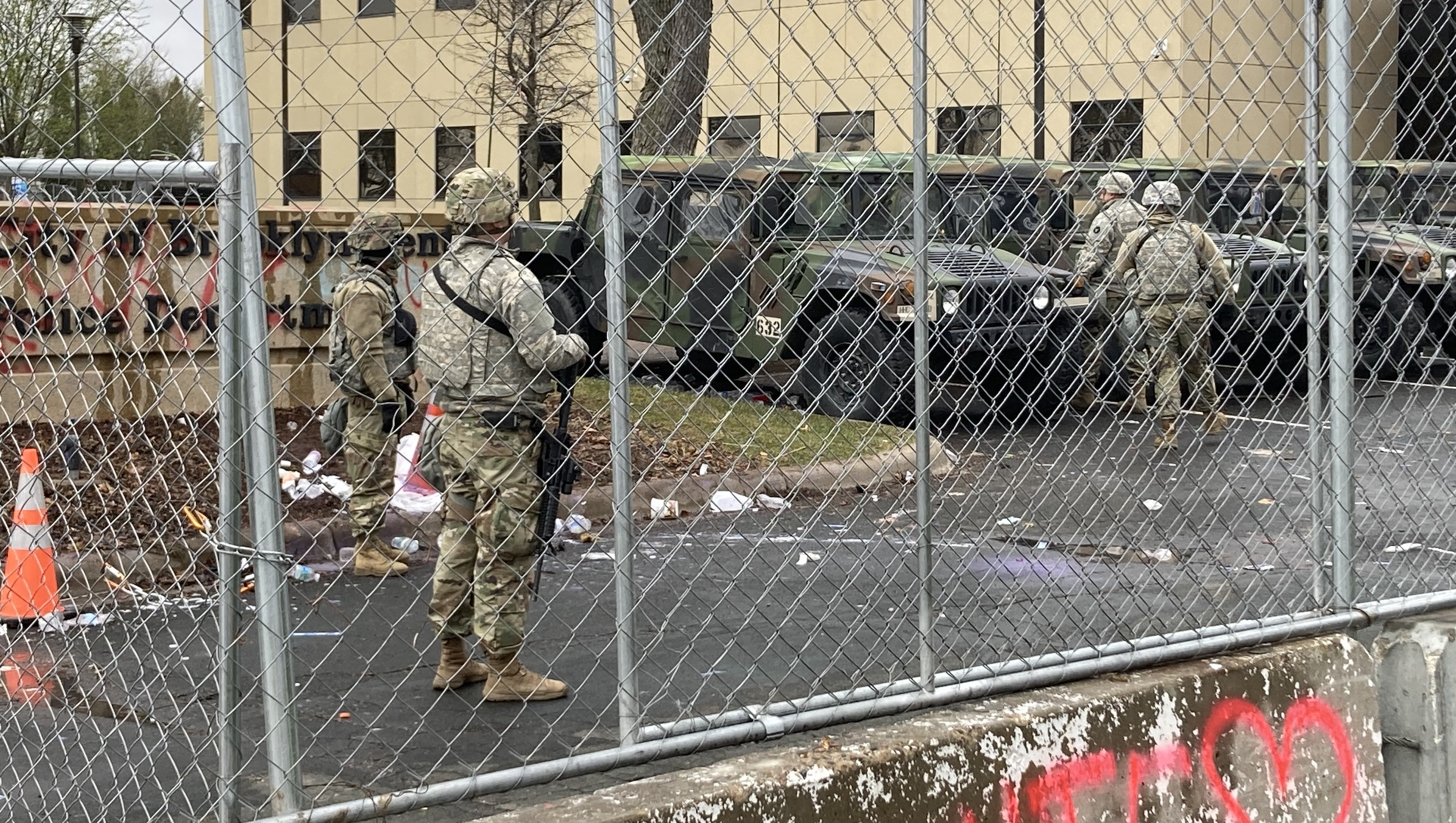How the National Guard prevented massive riots after Daunte Wright shooting