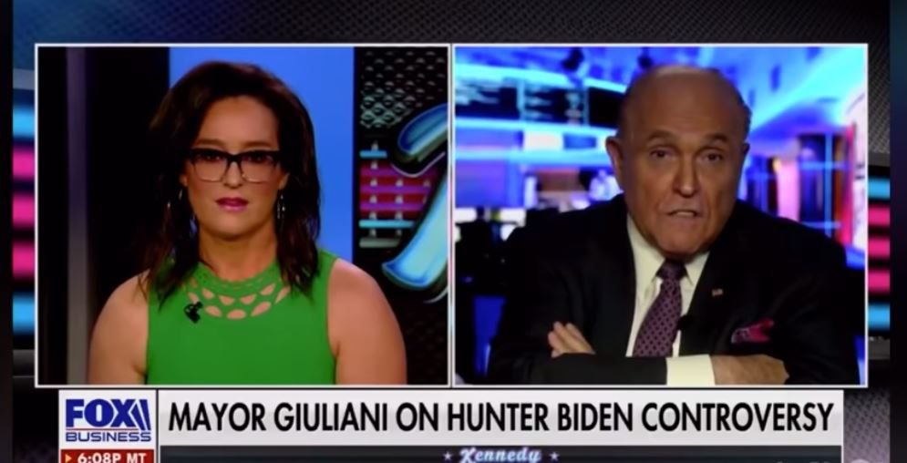 Giuliani slams Fox Business host over 'outrageous' comparison to Christopher Steele