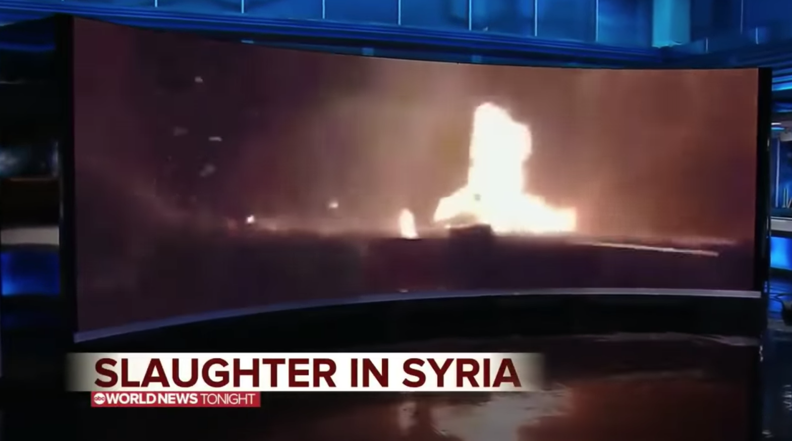 'Disinformation': Kentucky video ABC said was 'slaughter in Syria' was spread by Turkish politician