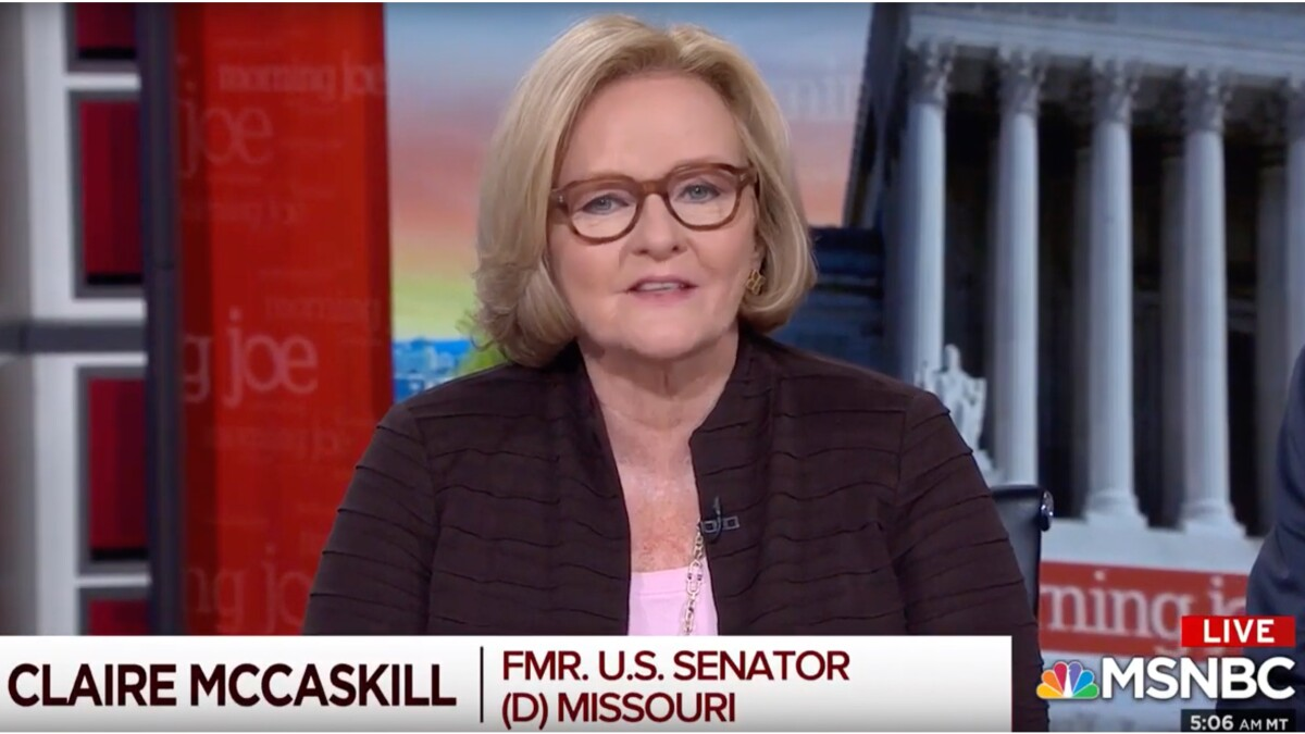 Scarborough to McCaskill on defending Biden: You can't 'shovel BS around on our set'