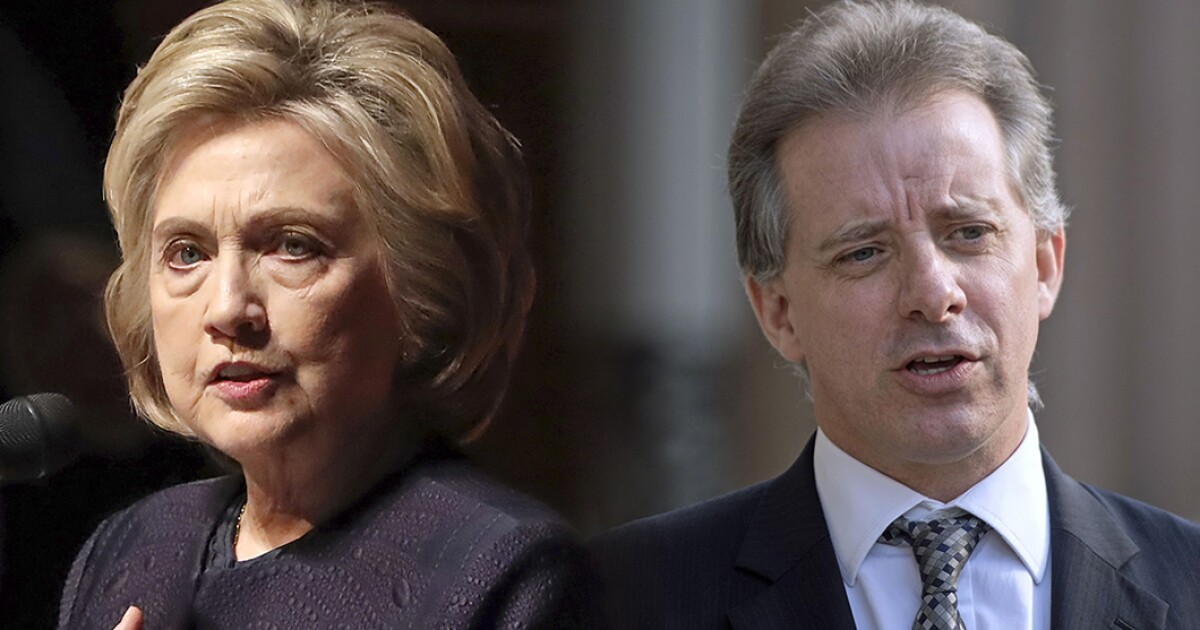 Unearthed secrets detail how Hillary Clinton allies boosted Christopher Steele's access to FBI