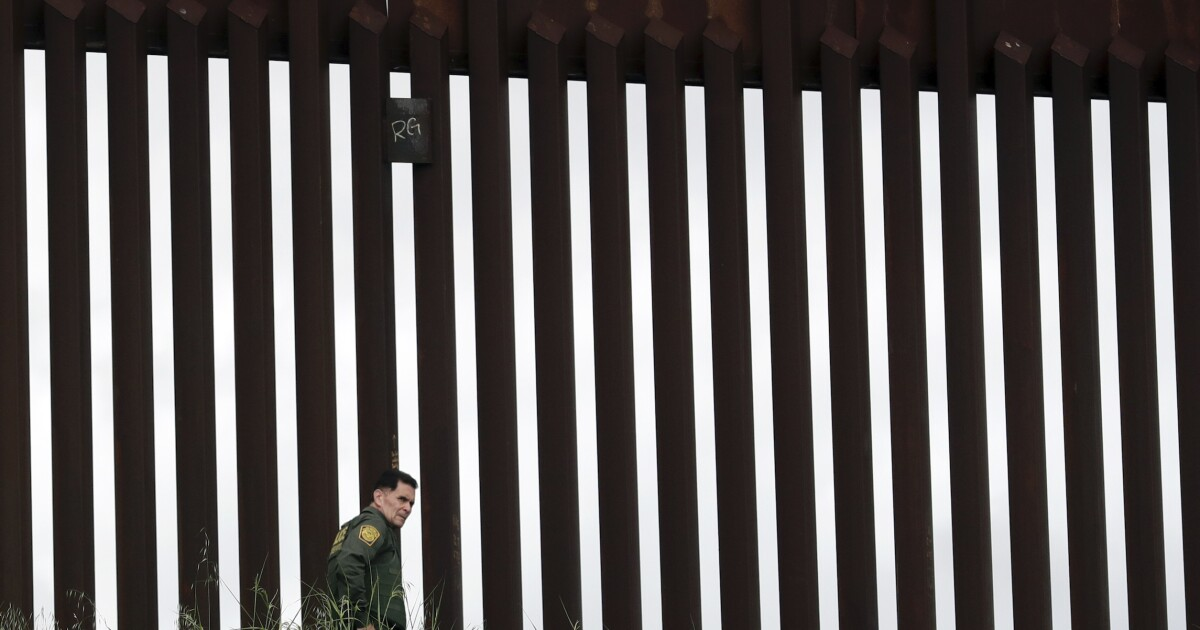 Smugglers sawed into new border wall 18 times in one month