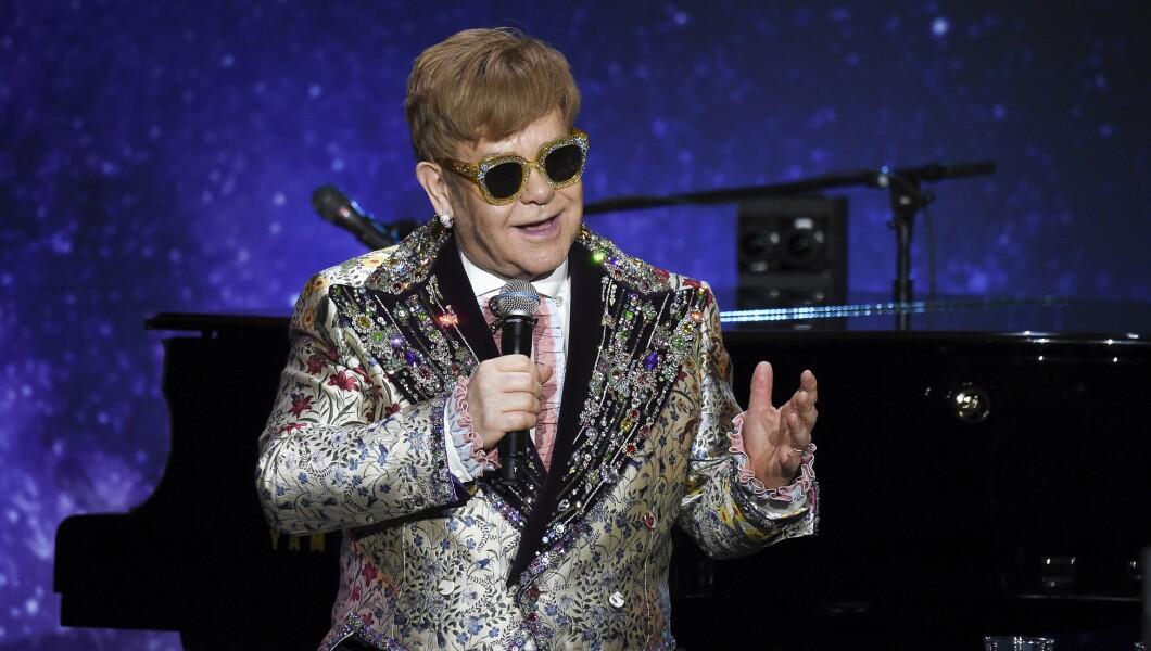 Elton John Andrew Cuomo