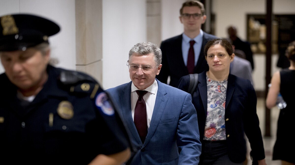 Kurt Volker told lawmakers: Mike Pompeo wanted Rudy Giuliani reined in on Ukraine