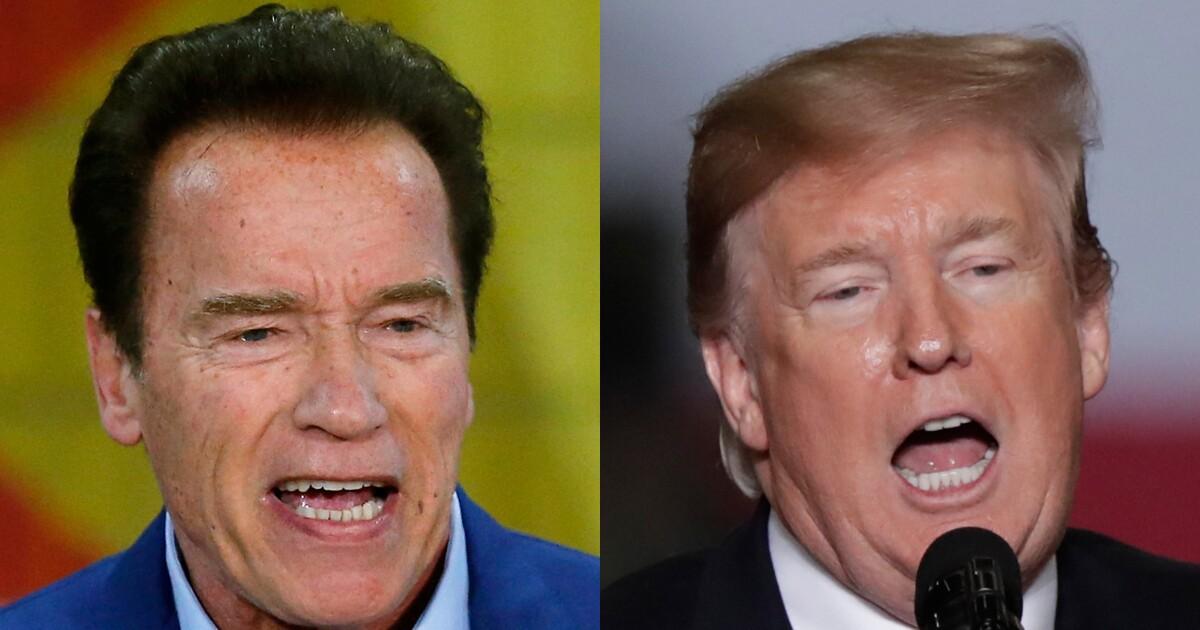 Arnold Schwarzenegger comes to John McCain's defense, body shames Trump