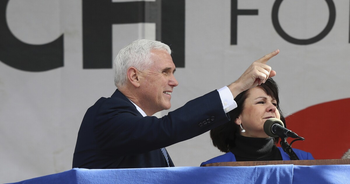 Pence welcomes pro-life Democrats. Why won't the Left embrace them too?