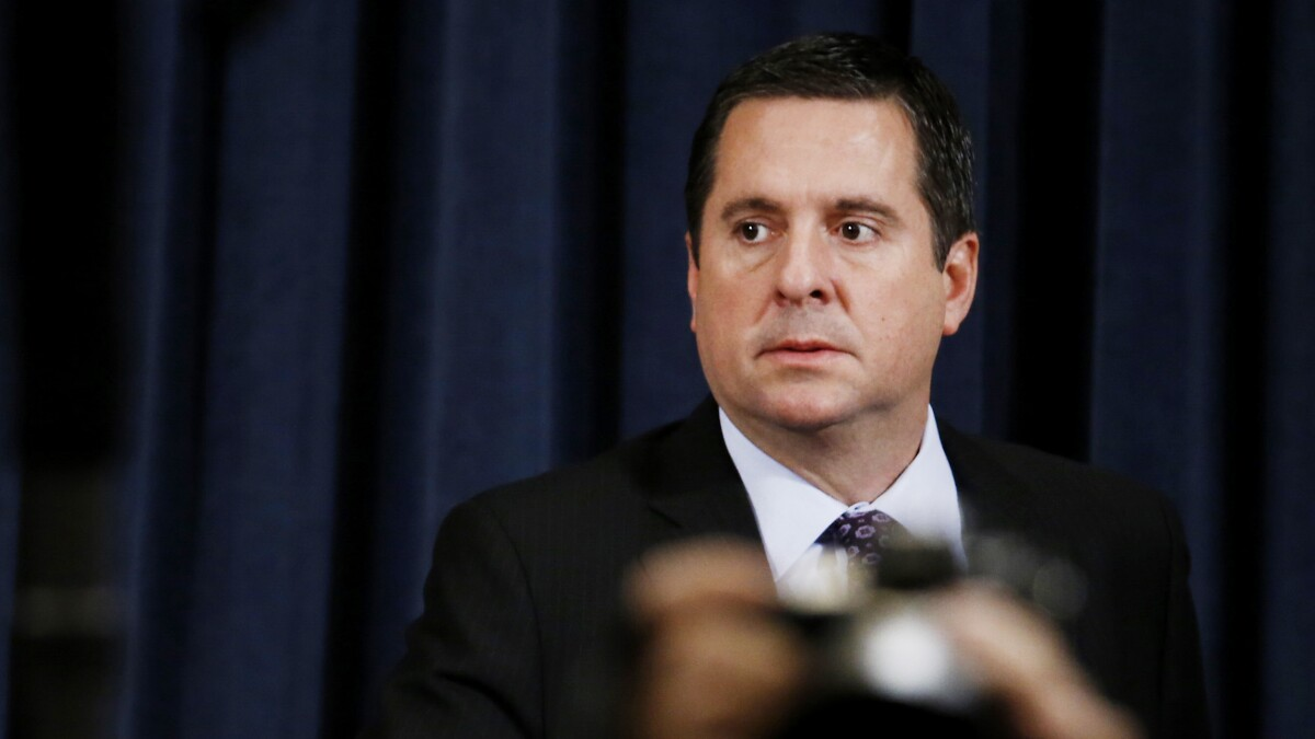 Devin Nunes: Impeachment trial makes McCarthyism look like 'nothing'