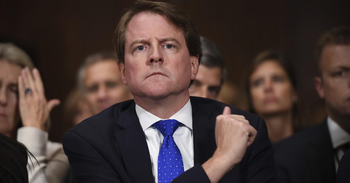 DOJ and House Democrats reach agreement on Don McGahn testimony