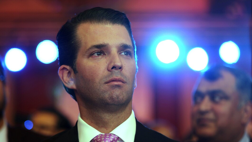 Fox host asks Trump Jr. if Trump family is 'benefiting financially' from presidency