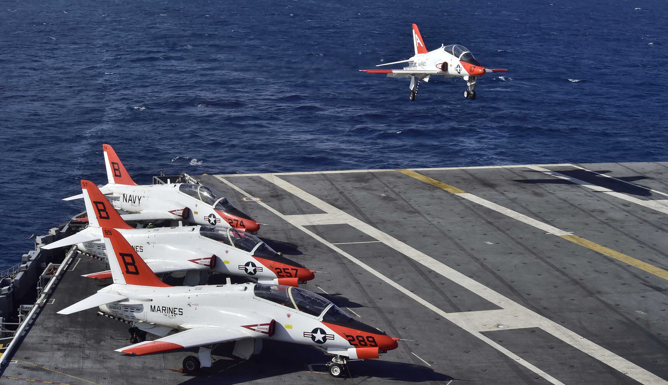 Days After Resuming Flight With The Type A Us Navy Boeing T 45 Goshawk Trainer Jet Crashed On Sunday Evening During Routine Training