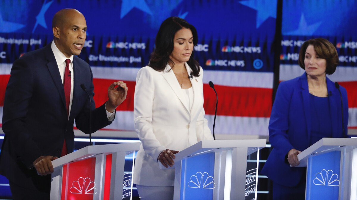 Cory Booker struggles to make December debate and avoid pressure to drop out