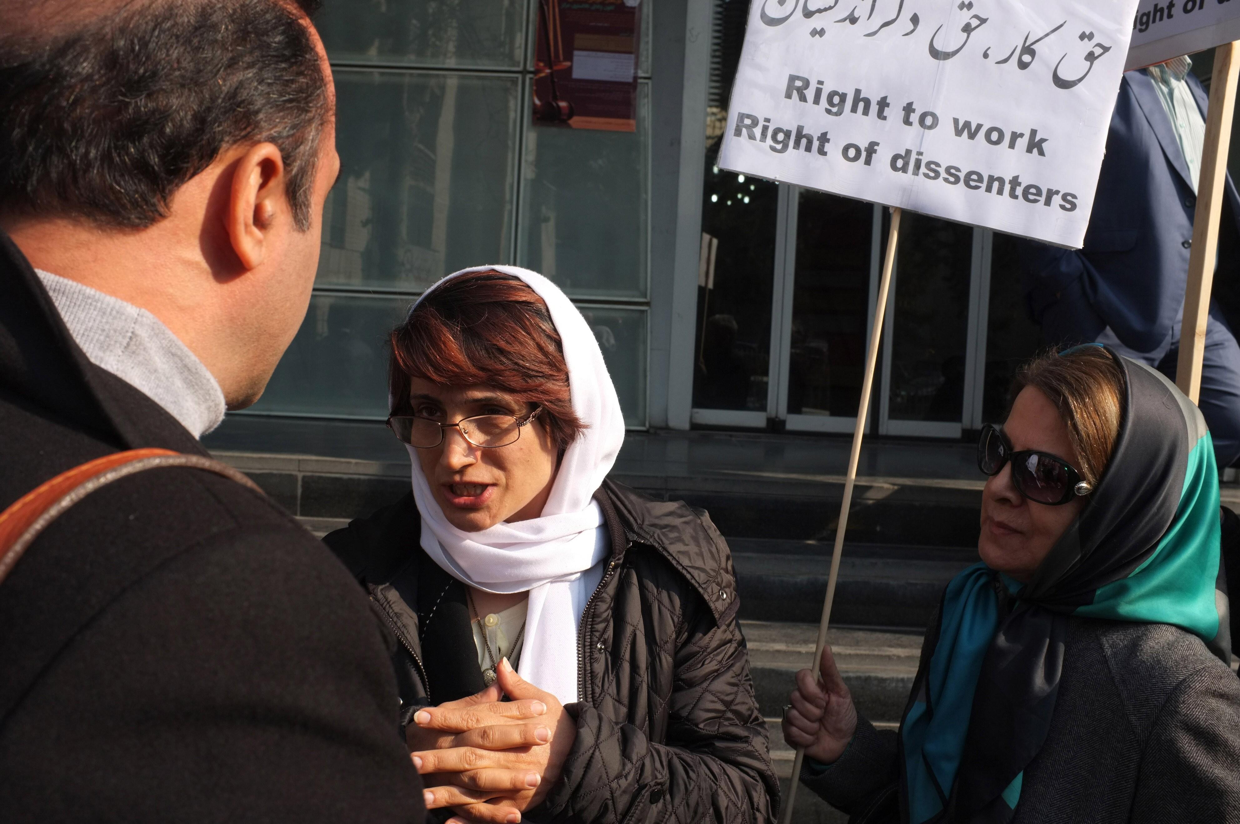 Nasrin Sotoudeh Portrait Session