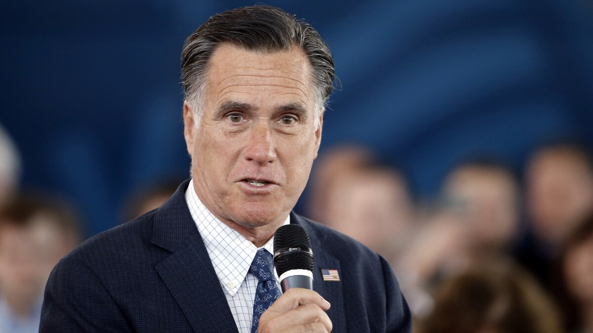 Does Mitt Romney really want to ditch Trump and bring back awful Bush-Cheney foreign policy?