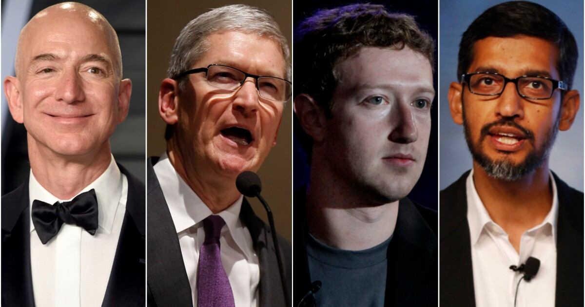 CEOs of Amazon, Apple, Facebook, and Google to testify before House Judiciary Committee