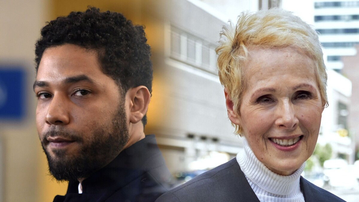 E. Jean Carroll is following the Jussie Smollett business model: Claim victimhood by Trump