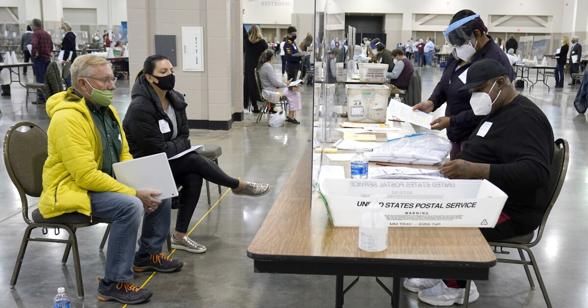 FBI requests files of people voting in...