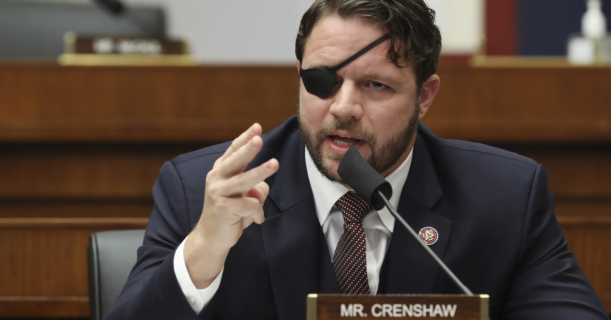 Dan Crenshaw warns GOP infighting 'BS' could cost Republicans future elections