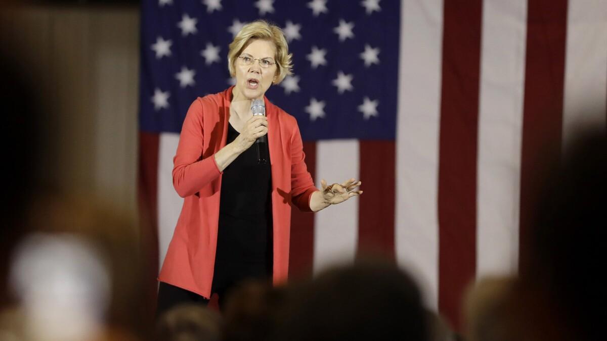 Elizabeth Warren fibbed — private prison stocks have bombed in the Trump era