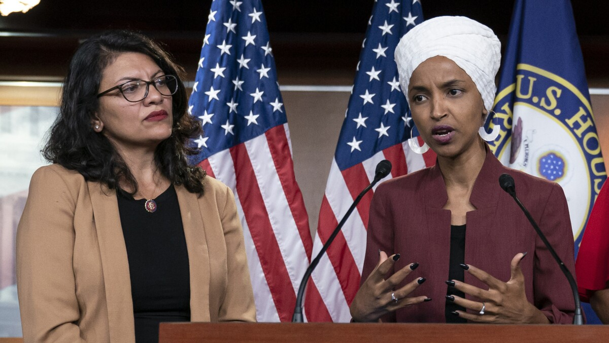 The 'oppressed' Palestine Omar and Tlaib love so much just banned gay and transgender activism