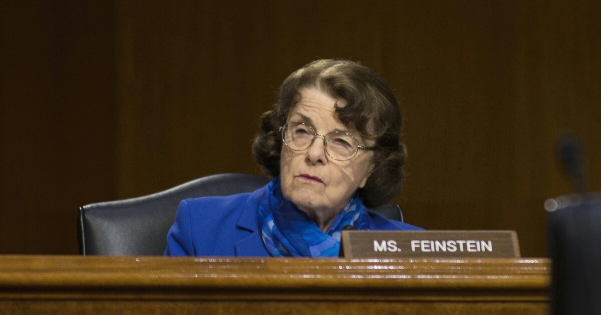 'Growing into a respectable nation': Dianne Feinstein praises China