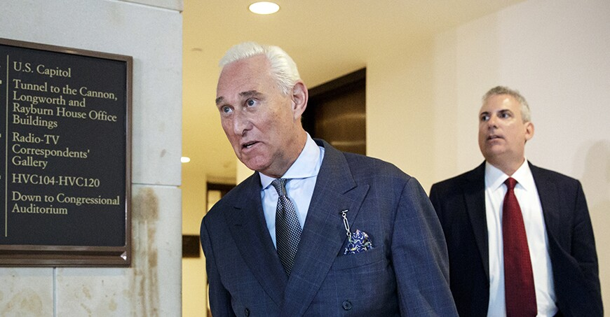 Image result for photos of roger stone and JASON SULLIVAN