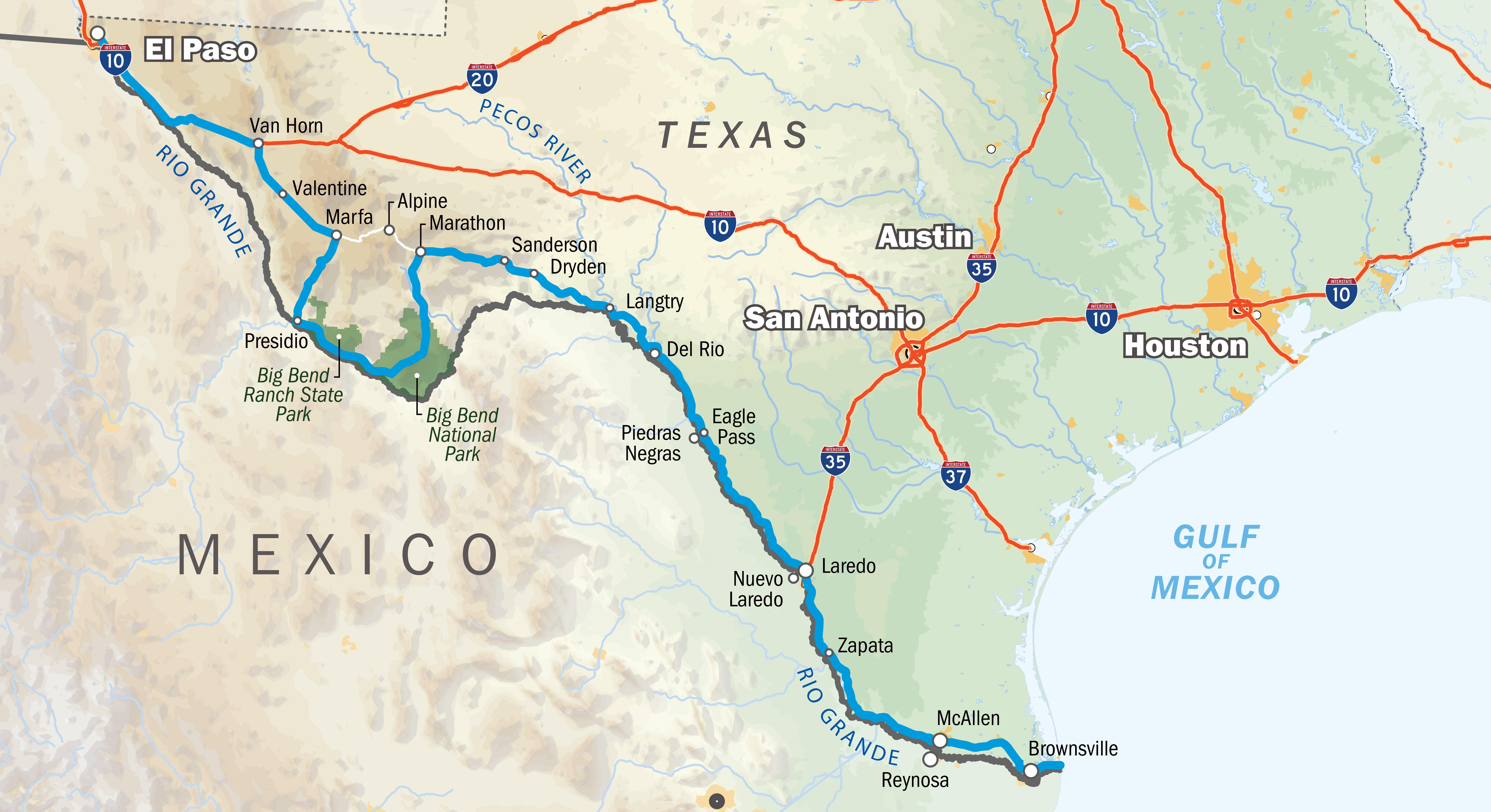U.S.-Mexico Border: Why a Wall Won't Fix the Problems in ... on powell tx map, shepherd tx map, robert lee tx map, palmer tx map, mason tx map, henderson tx map, clarksville tx map, mansfield tx map, vernon tx map, anderson tx map, orange tx map, tuleta tx map, sheffield tx map, anthony tx map, andrews tx map, san isidro tx map, greenville tx map, uvalde tx map, snyder tx map, balmorhea tx map,