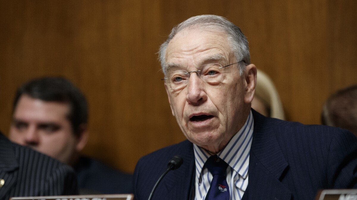 Sen. Chuck Grassley: We need whistleblowers for good government