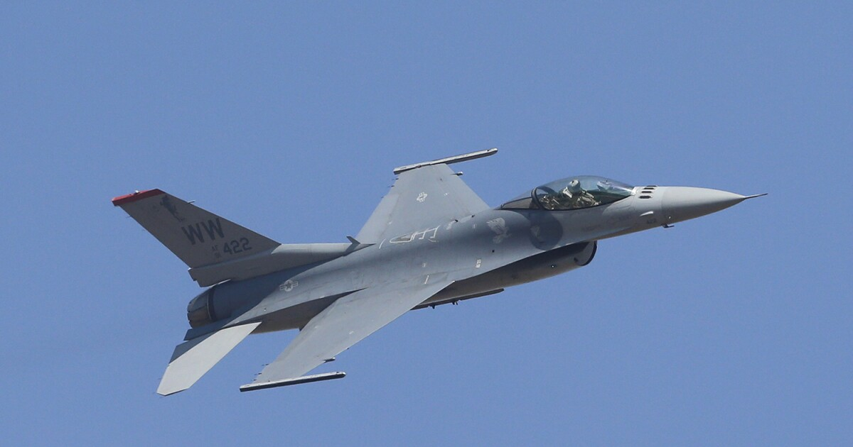 Plane intercepted by Air Force fighter near Trump's New Jersey golf course deemed not a threat