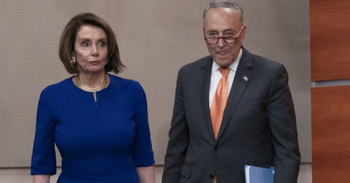 White House denies meeting blowup with Schumer and Pelosi was a 'stunt'