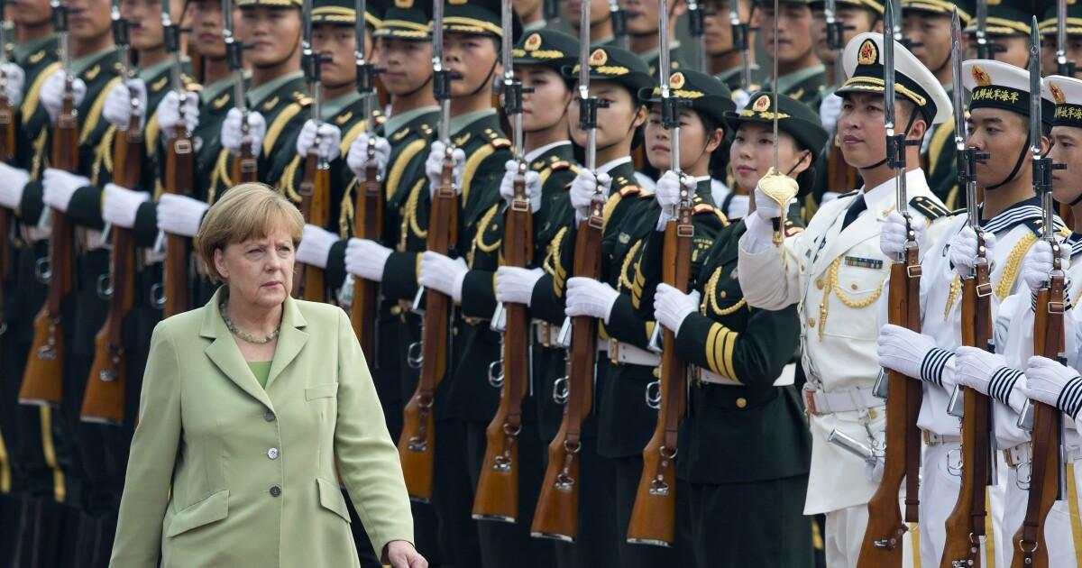 Germany's pathetic China dock diplomacy