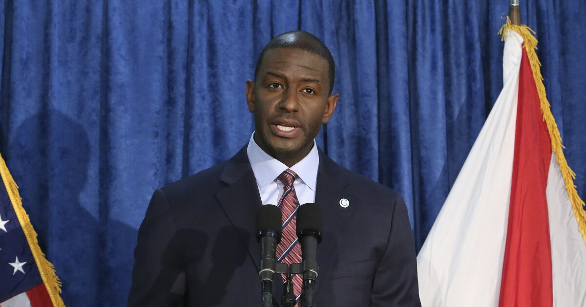 Andrew Gillum just undermined confidence in Florida's fair election