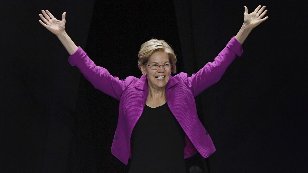 Matt Drudge: 'It's Elizabeth Warren's nomination to lose...'