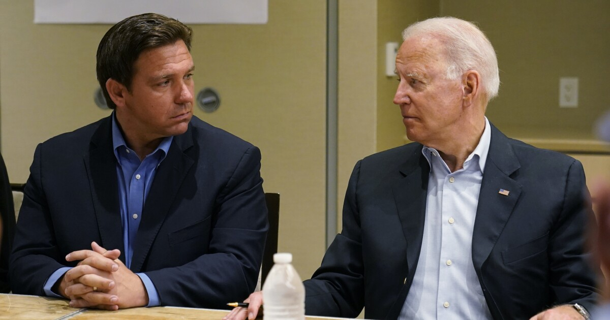 Biden points finger at GOP governors and possible 2024 rivals for pandemic resurgence
